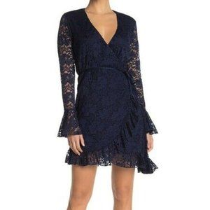 NEW HAH Hot As Hell Wrap Star Lace Dress Small